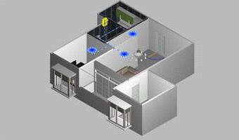 房型结构:一卫一厨相邻