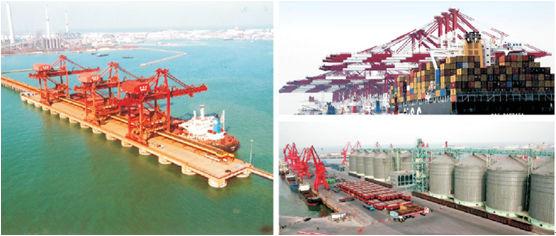 单船的拖网结构图片