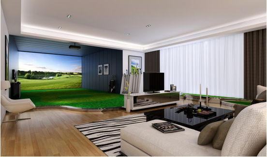 室内高尔夫模拟器乐在何处?